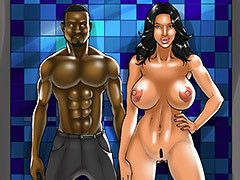 Interracial cartoon - I'm..